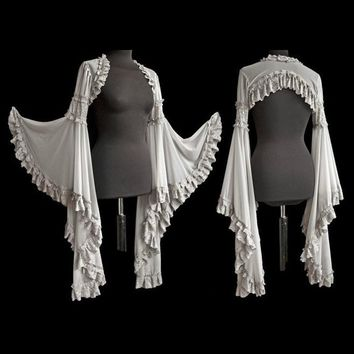 Womens Victorian Style Cape - Cosplay or Brid - Renaissance Apparel