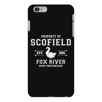 Property of Scofield, Fox River, State Penitentiary iPhone 6/6s Plus Case