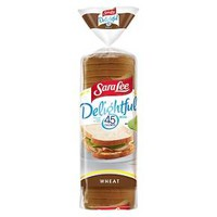 Sara Lee 45 Calories & Delightful Wheat Bread 20-oz. : Target