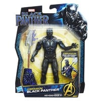 Vibranium Black Panther 6-Inch Action Figure