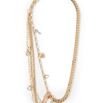 Marc By Marc Jacobs multi chains and pendants necklace