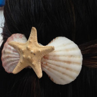 Mermaid Hair Barrette  by byElizabethSwan on Etsy
