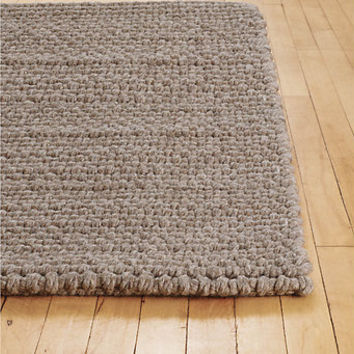 DWR Thatch Rug, Braided Wool, Natural, 10 x 12'