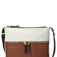 Fossil 'Erin' Colorblock Crossbody Bag