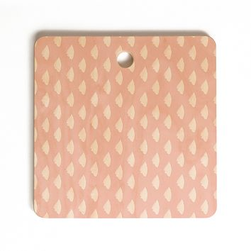 Allyson Johnson Dainty Blush Cutting Board Square