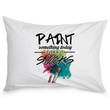 Paint Something Pillow Case paintsomethingpillowcase