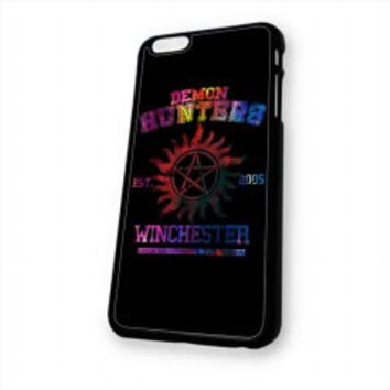 supernatural demon hunters galaxy for iphone 6 case