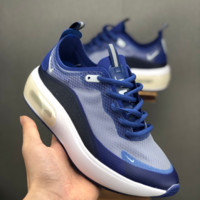 HCXX 19July 665 Nike Air Max Dia SE QS AR7410-400 Slow-motion translucent casual jogging shoes