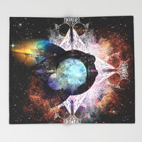 It's Complicated V. 3: In Space Throw Blanket by J.Lauren | Society6