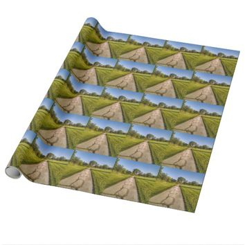 Sunny Road Wrapping Paper