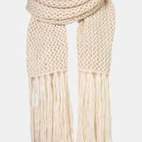 Topshop 'Cross Stitch' Scarf | Nordstrom