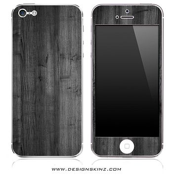 Dark Wood iPhone Skin