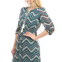 Erin Chevron Dress