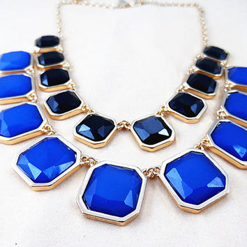 NEW Classic Couture Necklace , Bubble necklace, Bib necklace, Statement Necklace, best for dinner (FK203)