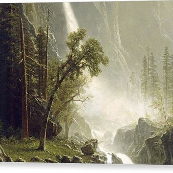 Bridal Veil Falls - Canvas Print