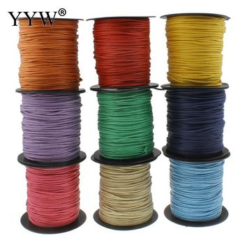 100m/Spool 2mm Nylon Cord High Quqlity Plastic Spool Bracelet Necklace Making DIY Jewelry Supplies