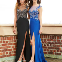 Madison James 15-136 Prom Dress Evening Gown