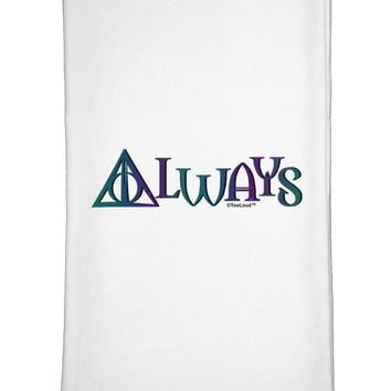 Always Magic Symbol Flour Sack Dish Towel by TooLoud