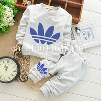 Baby boy clothes 0-2Newborn baby girl clothing suit bodysuits tracksuit brand for children sport 2017 spring autumn clothes