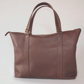 Leather Tote Bag,  Large Leather Tote Bag, Women Purse, Tote Purse, Leather Tote Handbag, Leather Shoulder Bag, Gifts for her