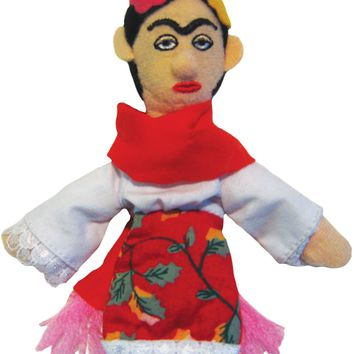 Frida Kahlo Magnetic Personality Finger Puppet