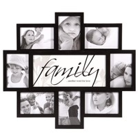 Nexxt PN19663-8 Felicite Series Black Collage Frame, Family