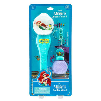 Disney Parks Ariel Glow Bubble Wand New with Box