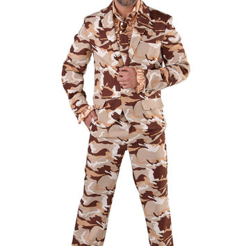 Crazy Suit - Military / Army , Desert Storm
