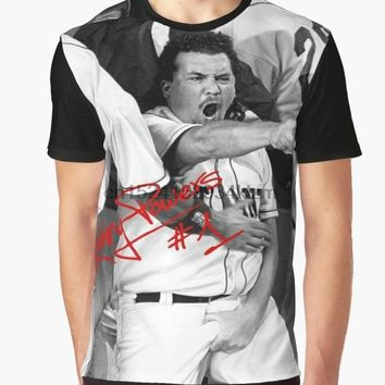 All Over Print T-Shirt Men Funy tshirt Kenny Powers #1  Short Sleeve O-Neck Tops Tee