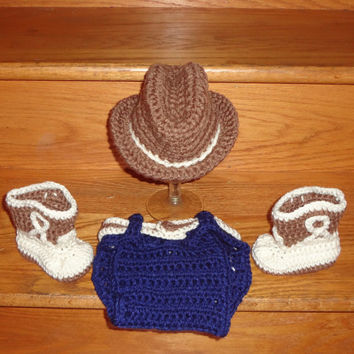 Best Crochet Newborn Cowboy Hat Products On Wanelo