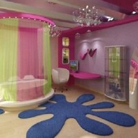 Cute Ideas Room Girls Bedroom - Fitted Wardrobes, Anime Images, Painting Designs For Kids Rooms on Saturday, 4th August 2012, 11:38:45   homahku.com