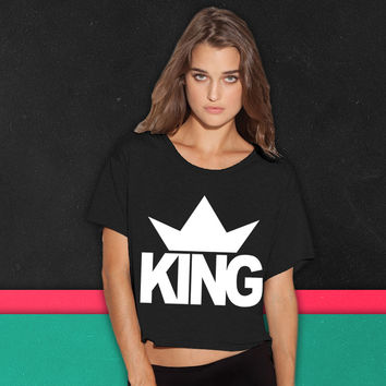 KING CROWN 1 boxy tee