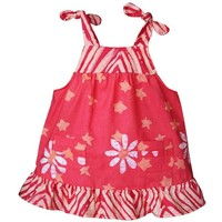 Fair Trade Baby Pocket Dress - Daisy