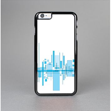 The Abstract Blue Skyline View Skin-Sert for the Apple iPhone 6 Skin-Sert Case