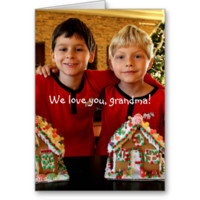 Personalized Gifts For Grandma Note Card