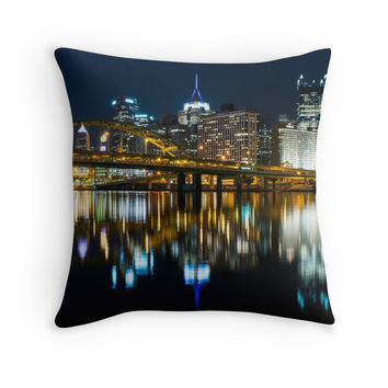'The Burgh' Throw Pillow by rachels1689