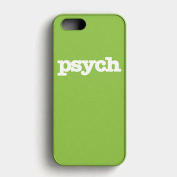 Psych Tv Series iPhone SE Case