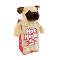 Aroma Home Aromahome Pug Dog Hot Hugs Lavender Microwaveable Insert Hottie Plush Stuffed Animal