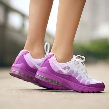 Nike MAX 95 men and women tide brand fashion casual sports running shoes F purple