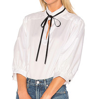 Alexis Eliana Blouse in White | REVOLVE