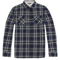 Vans Birch Flannel Shirt - Mens Shirts - Blue