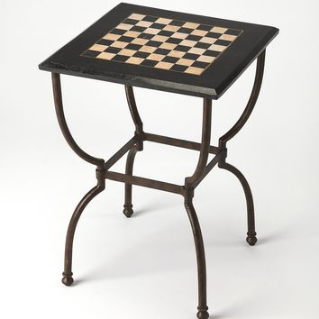 Frankie Fossil Stone Game Table