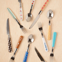 12-Piece Mixed Cutlery Set - Urban Outfitters