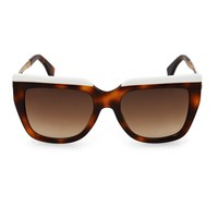 Square-framed tortoiseshell sunglasses | Fendi | MATCHESFASHION.COM US