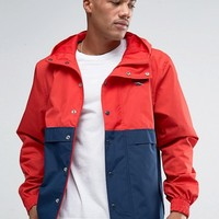 Reebok Vector Jacket In Red BK5102 at asos.com