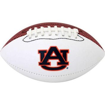 CREYHJ2 Official Size Autograph Football Auburn