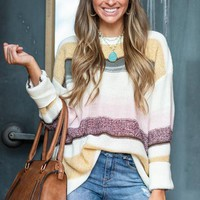 Electric Charge Sweater, Ivory
