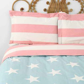 American Flag Sham - Set Of 2- Multi One