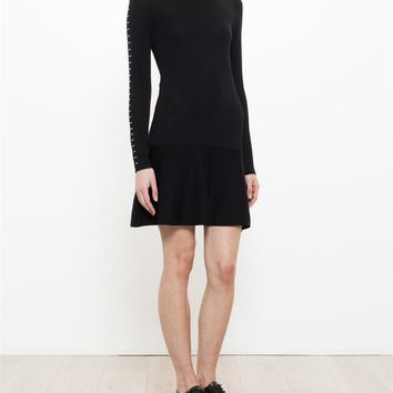 BALENCIAGA | Staple Wool Dress | brownsfashion.com | The Finest Edit of Luxury Fashion | Clothes, Shoes, Bags and Accessories for Men & Women