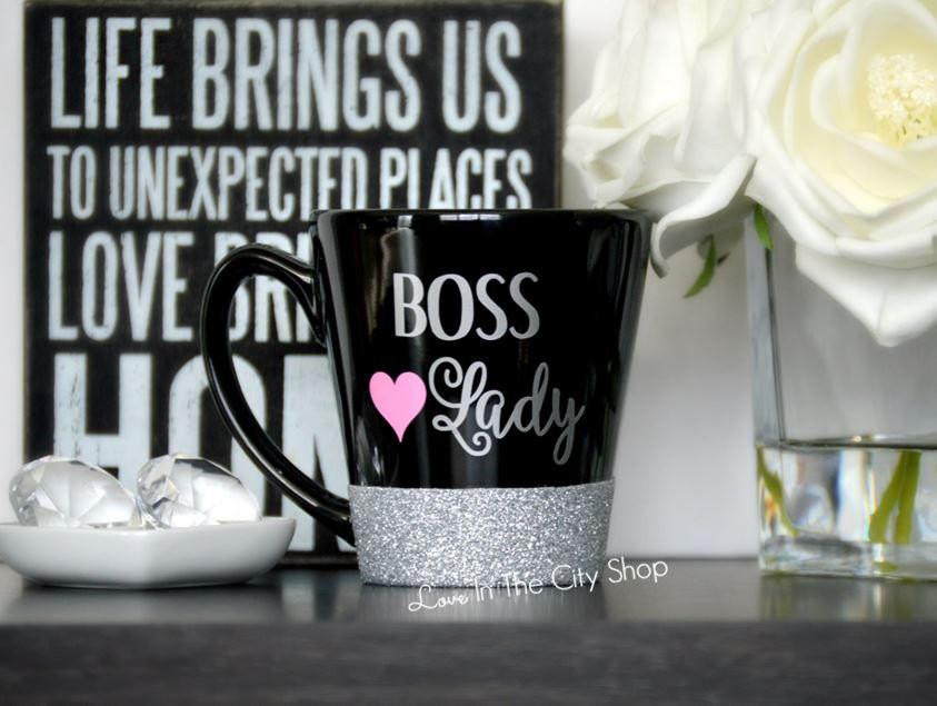 Boss Lady Coffee Mug Best